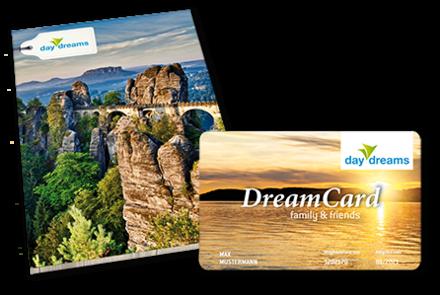 Die DreamCard family & friends